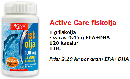 Active Care fiskolja
