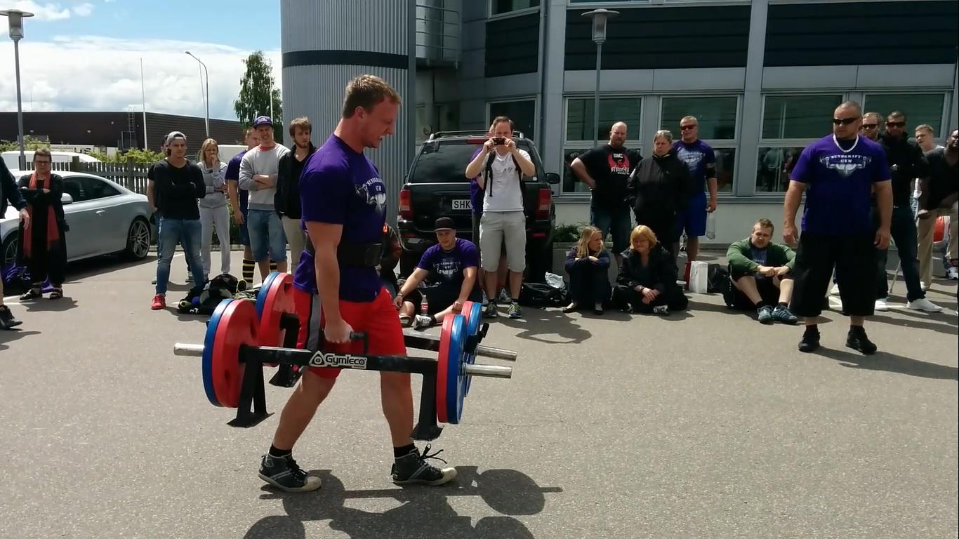 Hur träna för strongman
