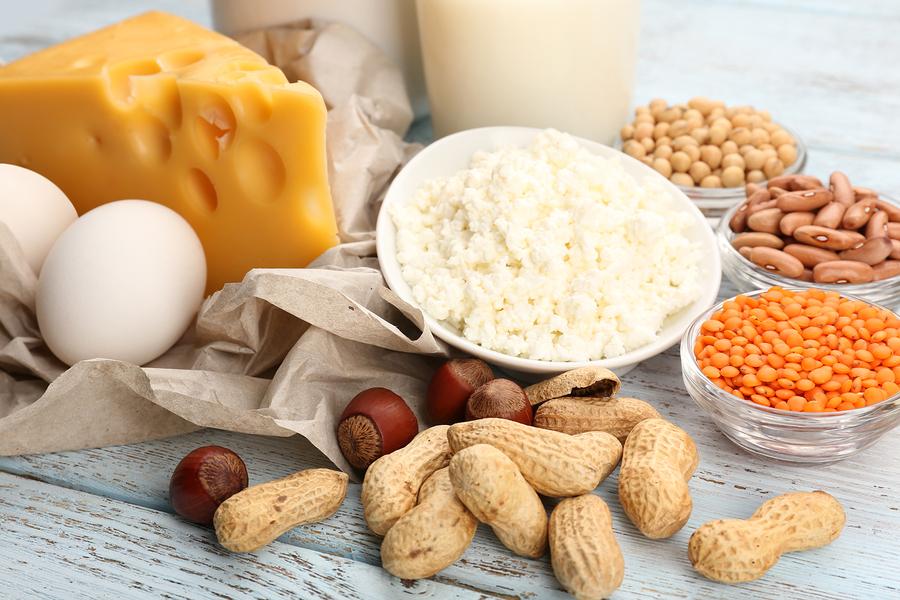 hur många gram protein innehåller ett ägg