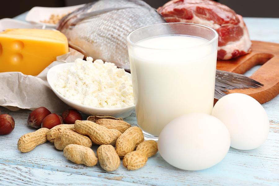 Protein för att bygga muskler