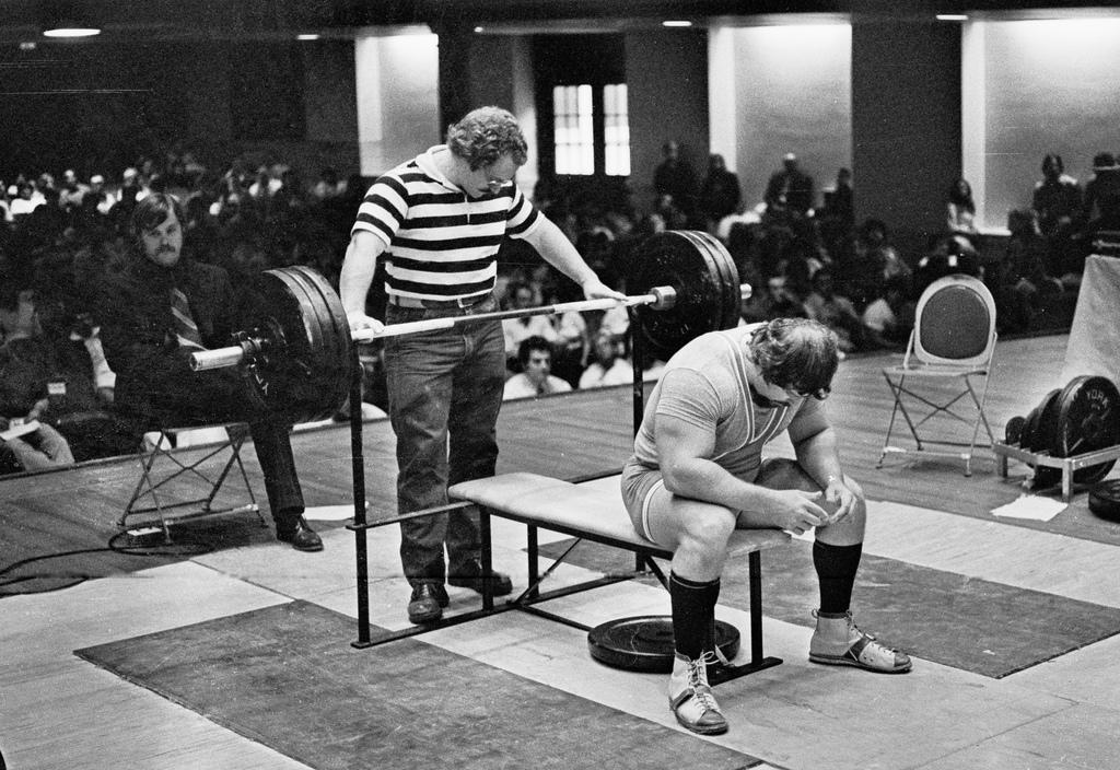 Bänkpress styrketräning