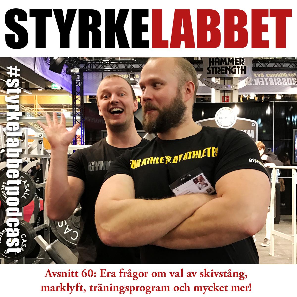 Styrkelabbets podcast