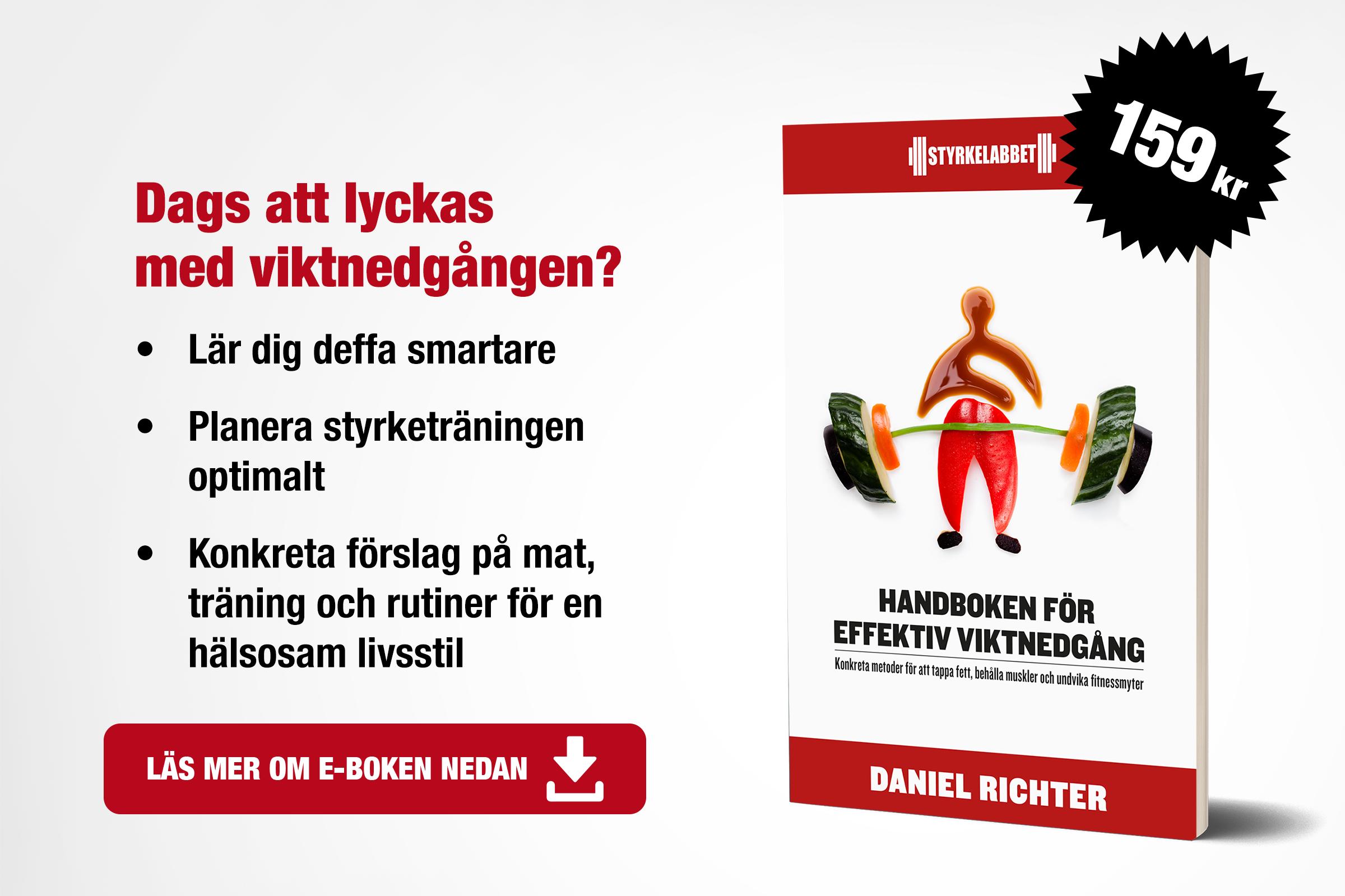 Handboken för effektiv viktnedgång Utvald