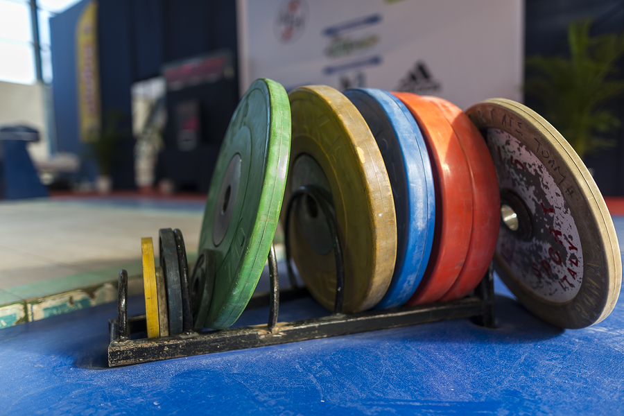 Viktskivor styrketräning