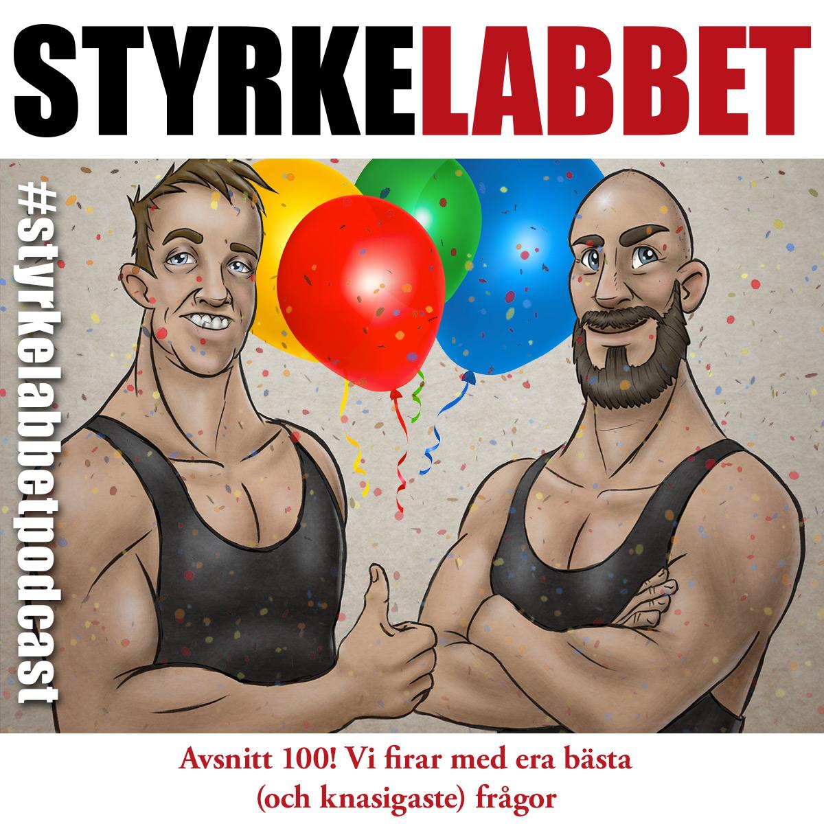 Styrkelabbet podcast avsnitt 100