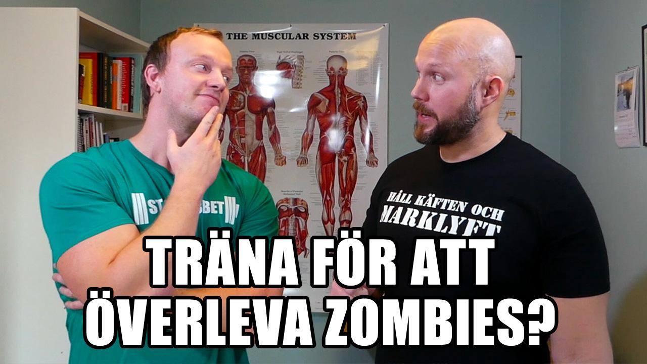 Så tränar du för att överleva en zombieattack