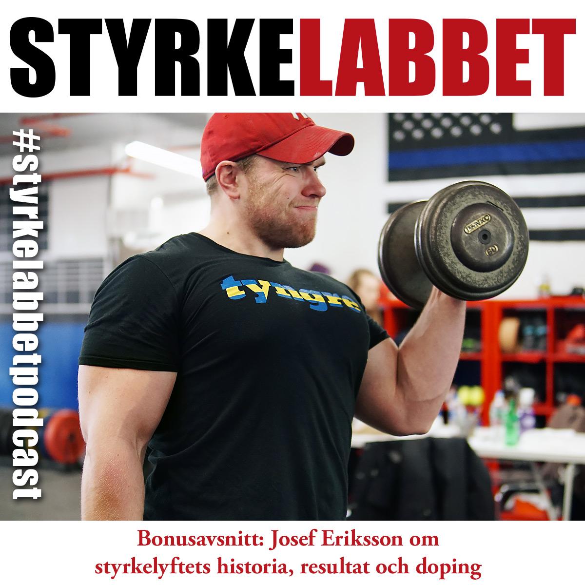 Bonusavsnitt: Josef Eriksson om styrkelyftets historia, resultat och doping