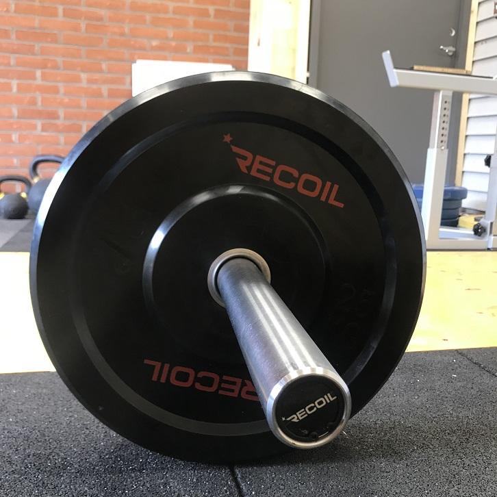 Skivstång och viktskivor från Recoil