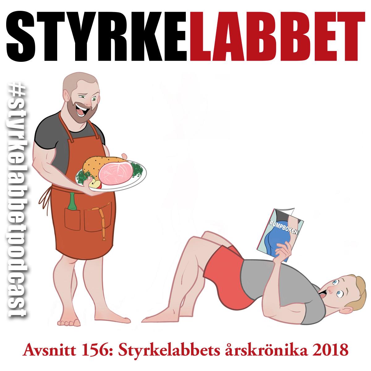 Styrkelabbet avsnitt 156: Styrkelabbets årskrönika 2018