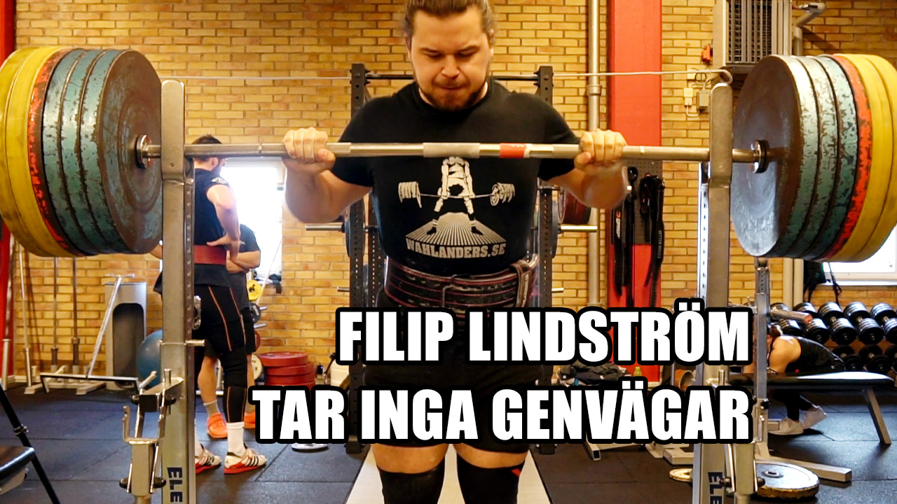 Intervju med Filip Lindström inför VM i klassisk styrkelyft